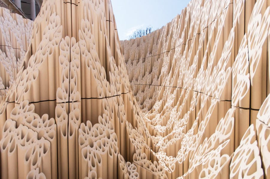 SHop architects. Escultura de terracota