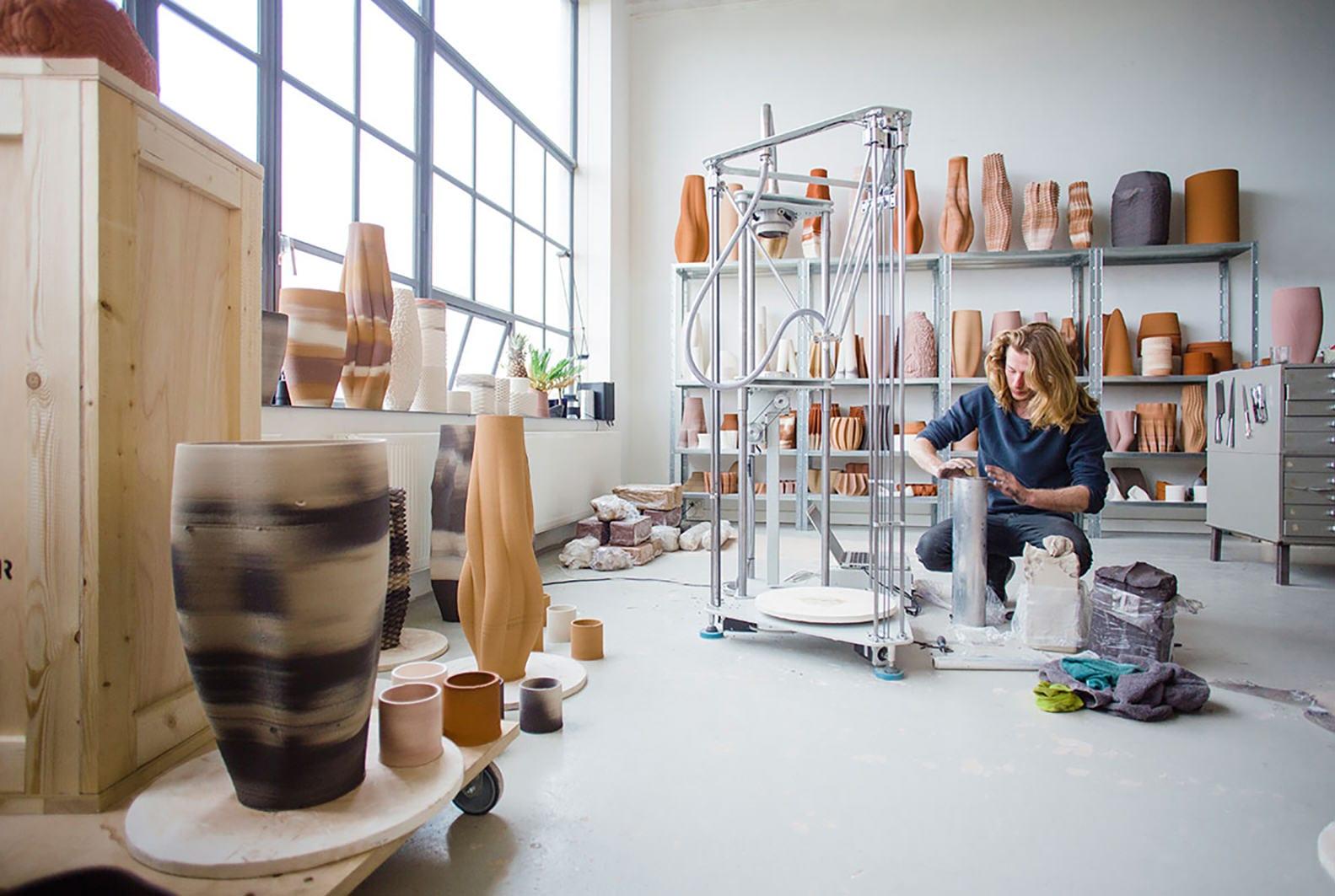 Olivier van Herpt Functional 3D Printed Ceramics