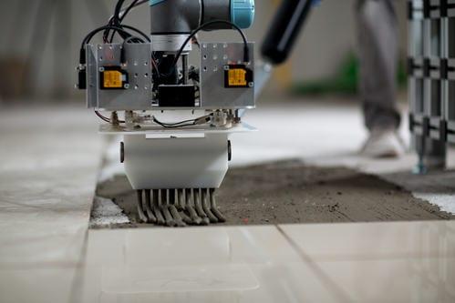 Colocación de azulejos robotizada
