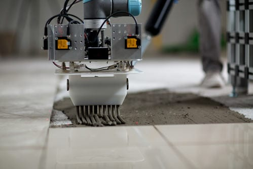 Mobile Robotic Tiling