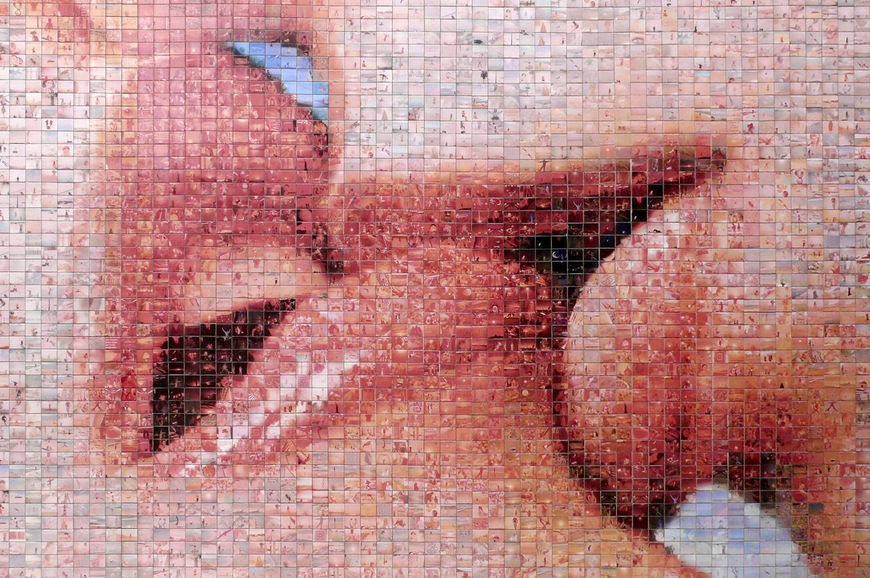 El mundo nace en cada beso