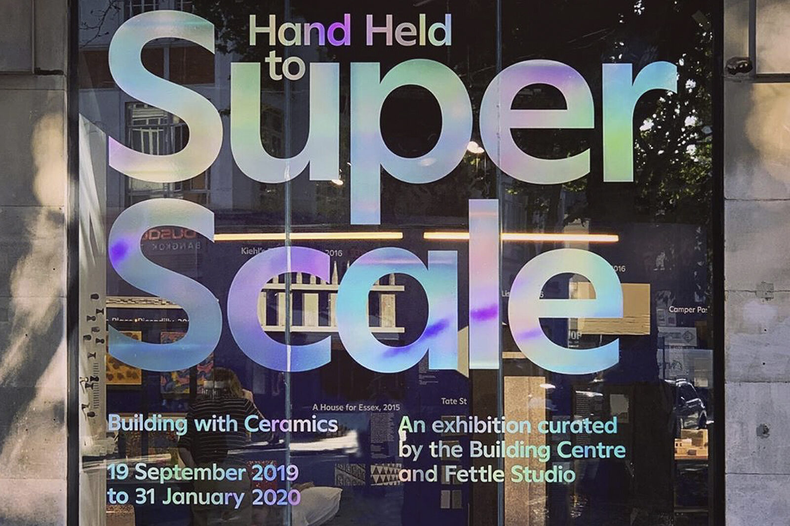 Hand Held to Super Scale: Building with Ceramics