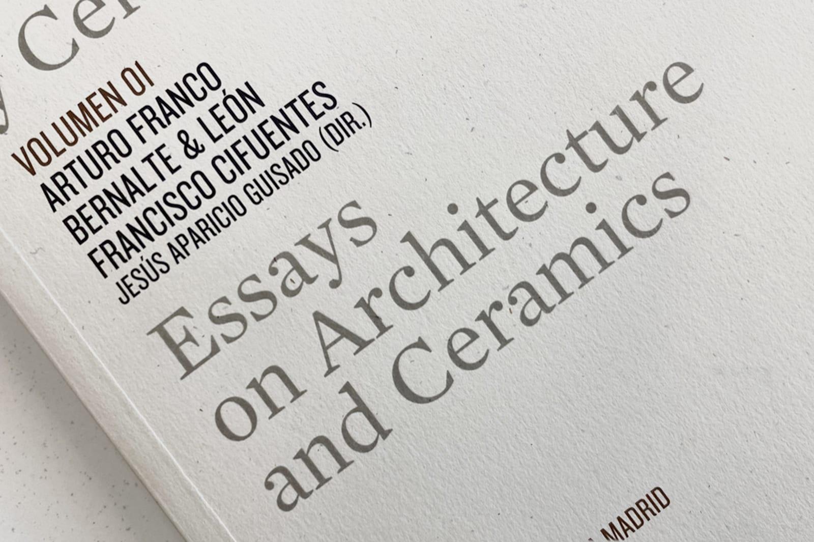 Essays on Architectures and Ceramics I